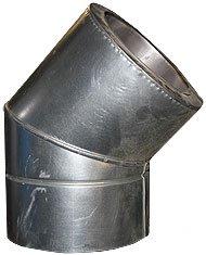 Колено из нержавеющей стали с термоизоляцией