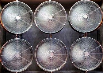 Радиальный вентилятор промышленный купить