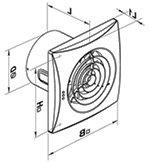 Купить канальный вентилятор для вытяжки 150 мм