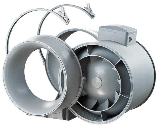 Описание вентиляторов Вентс ТТ