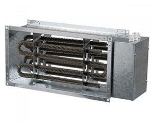 Канальный электрический нагреватель серии НК (прямоугольный)