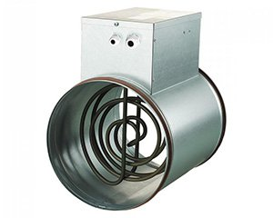 Канальный электрический нагреватель серии НК (круглый)