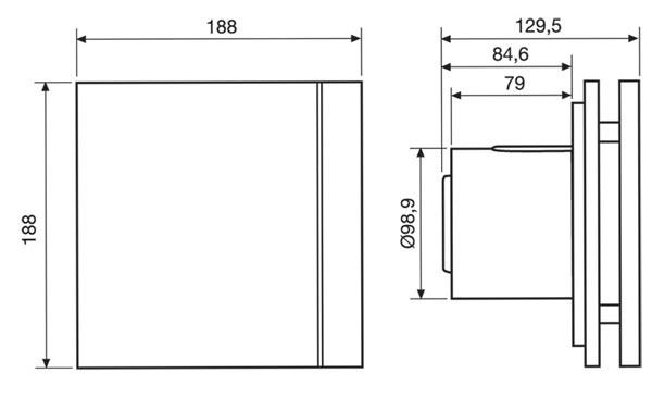 Серия вентиляторов Silent 100 cz Design